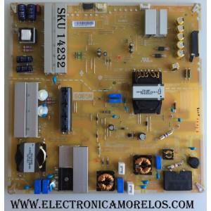 FUENTE DE PODER / LG 64489641 / EAY64489641 / EAX67165801(1.6) / LGP6065M-17SU12 / MODELO 65SJ850A-UC.BUSYLJR / PANEL  LC650EQF(DK)(M1)