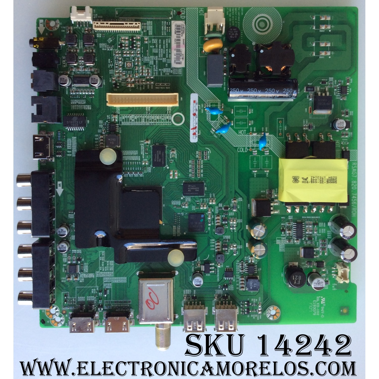 Sharp 214722 Main Board for LC-43P5000U