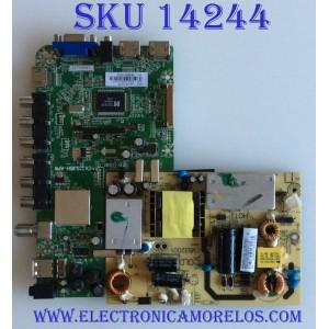 MAIN FUENTE (COMBO) ELEMENT / ELEFT326 K1300  / CV3393BH-APW / 1.80.43.00210 / 38H0923A / CVB32001 / 1.93.00.00317 / 1.05.01.0020077-004 / PANEL BLD315BA02 / MODELO ELEFT326 K1300