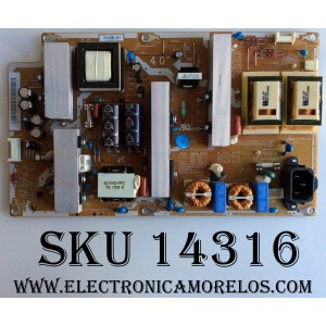 FUENTE DE PODER / SAMSUNG / BN4400340A / BN44-00340A / PS1V231510A / I40F1_ASM REV.1.1 / PARTES SUSTITUTAS BN44-00340B / BN44-00417A / MODELO LN40C530F1FXZA / PANEL V400H1-L08  REV:C2