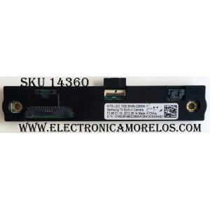 COMPLEMENTO DE CÁMARA INCORPORADA / SAMSUNG BN96-22665A / BN9622665A / MODELO UN55ES7500FXZA TS01 / PANEL LTJ550HQ16-V