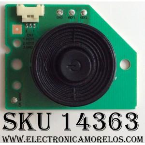BOTONERA PARA TV / SAMSUNG BN96-22726D / 22726D / BN41-01839A / MODELO UN55ES7500FXZA TS01 / PANEL LTJ550HQ16-V