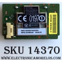 MODULO DE WI-FI PARA TV / LG EAT61813802 / WN8122E1 / MODELO 49LH5700-UD BUSGLJR / 49LH5700-UD BUSGLOR / 55UH6030-UC AUSFLJR / 55UH6030-UC AUSWLJR / 43UH610A-UJ BUSWLOR