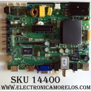 MAIN / FUENTE / (COMBO) / B15062069 / TP.MS3393T.PB79 / 02-SHS39B-C008000 / MODELO FW32D25T