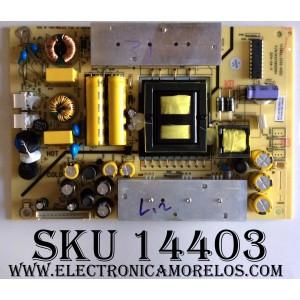 FUENTE DE PODER / PROSCAN 1010042787 / TV3902-ZC02-01(D) / 1010042787-04649 / MODELO PLED4275A
