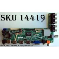 MAIN / WESTINGHOUSE 42T0147 / CV3393BH-F / 1.80.60.00107 / F50CV3393BHF11001 / LTE50308 / MODELO DWM50F3G1  VER:TW-77521-A050D / PANEL  D500D3-GG55-C0X / T500HVN04.1