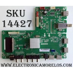 MAIN / RCA A16100300 / T.MS3458.U801 / AE0010758 / MODELO RLDED5099-UHD-A / PANEL V500DJ2-QS5-M3-12V