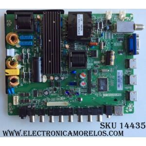 MAIN / FUENTE / (COMBO) POLAROID L14030569 / TP.MS3393.P82 / LSC460HJ03 / MODELO 46GSR3000