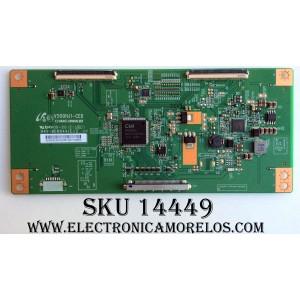 T-CON /Philips/RCA/TCL 3ZMD4CMC / V500HJ1-CE6 / 3ZMD4CMCE3351G0TF0400 / PANEL V580HJ1-LD6 Rev.C1 / MODELO LE50FHDF3010TATBAA / LED50B45RQ 4539-LE50B45-A2 / LRK50G45RQ / 58PFL4609/F7 DS1 / 58PFL4609/F7 DS2 / SLD50A45RQ 5402-SL50A45-A1