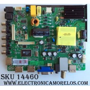 MAIN / FUENTE / (COMBO) / ELEMENT SY15238-1 / ST3393LU-AP2 / LSC400HM09 / MODELO ELEFW408 F5G0M