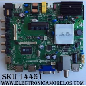 MAIN / FUENTE / (COMBO) / ELEMENT SY15437 / TP.MS3393.PB801 / 890-M00-06NBX / K15121018 / PANEL LSC400HN02 / MODELO ELEFW408 P5G5M