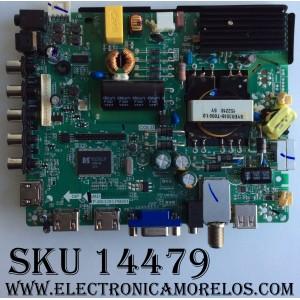 MAIN / FUENTE / (COMBO) / ELEMENT H15061225 / TP.MS3393.PB851 / 34014087 / 6A83 / MODELO ELEFW505 / PANEL V500HJ1-PE8