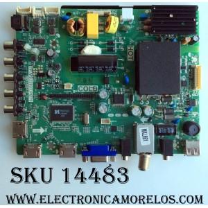 MAIN / FUENTE / (COMBO) / SANYO B15031042 / TP.MS3393T.PB79 / 3MS3393X-2 / 02-SHS39A-C002007