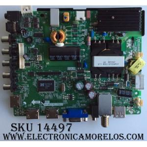 MAIN / FUENTE / (COMBO) / ELEMENT H15081432 / TP.MS3393.PB851 / MODELO ELEFW505