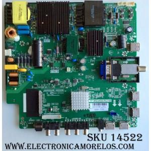 MAIN / FUENTE / (COMBO) / SCEPTRE A16089754 / TP.MS3458.PC758 / MODELO U50 / PANEL V500DJ2-QS5