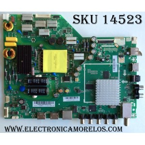 MAIN / FUENTE / (COMBO) / VIZIO A15115994  / 75500W01A009 / TP.MT5580.PB75 /  MODELO D43-D2 LWZJULAR / PANEL LC430DUY-SHA1