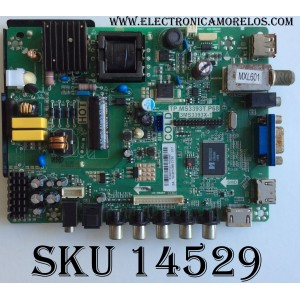 MAIN / FUENTE / (COMBO) SANYO B14031101 / 02-SHY39B-CYS0 / TP.MS3393T.P68 / 3MS3393X-1 / MODELO DP24E14 P24E14-00 / PANEL V236BJ1-P01 REV.C2