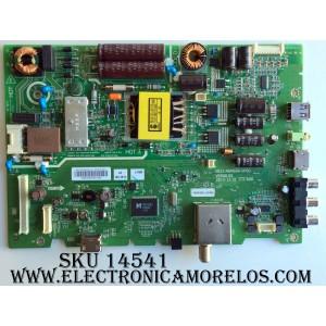 MAIN / FUENTE / (COMBO) / LG 43E3100 / 5823-A6M68A-0P00 / VER:00.5 / 1606382M / 1606382LA3588 / MODELO 43LH5000-UA CUSWLH / 43LH500-UA CUSWLH / PANEL / LC430DUY (SH)(A1)