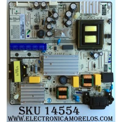 FUENTE DE PODER  / INSIGNIA 81-PBE043-H21 / CCP-508 / CQC12001080504 / MODELO SHG5504C18-101HB