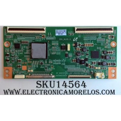 T-CON / SONY LJ94-03895H / 03895H / EDL_4LV0.3 / SUSTITUTAS LJ94-03925H / LJ94-03895F / LJ94-03925E / LJ94-03934F / LJ94-15723G / LJ94-03934G / LJ94-15723H / MODELO KDL-55EX620 / KDL-55EX720 / PANEL LSY550HJ03-006