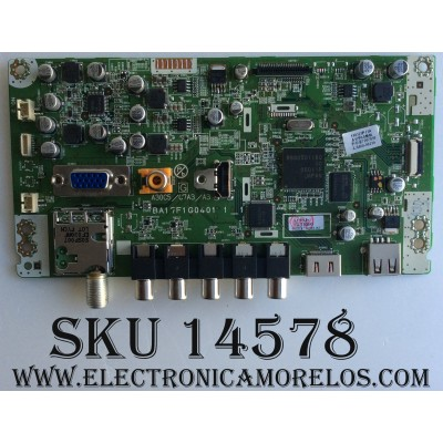 MAIN / MAGNAVOX A17F0MMA-001-DM / A17F0UH / BA17F1G0401 1 / MODELO 32MF301B / F7 DS1 / 32MF301B / F7 DS2 / PANEL UK32MXB