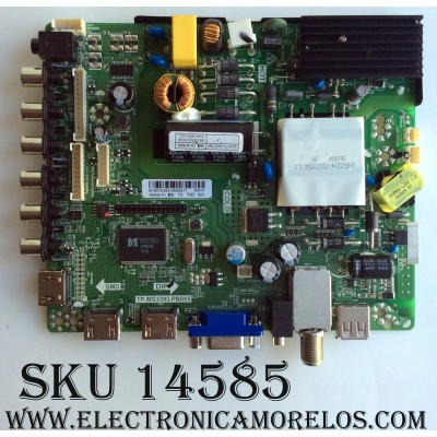 MAIN / FUENTE / (COMBO) / PROSCAN B16075393 / (8142123332166 / TP.MS3393.PB855 / MODELO PLDEDV4018 / PANEL V400HJ6-PE1