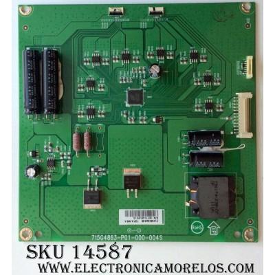 LED DRIVER / VIZIO INTVAR45GAAD6 / 715G4863-P01-000-004S / AR45GAAD6 / PANEL T460HB01 V.1 / MODELO M3D460SR
