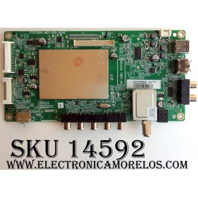 MAIN / VIZIO 756TXDCB02K028 / TXDCB02K028 / 715G5904-M0D-000-004K / MODELO E320-A1 LTTDNLEP / E320-A1 LTTDNLBP / PANEL TPT315B5-TAT01  REV:C1D