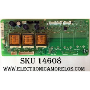 BACKLIGHT INVERSOR / PHILIPS 310432842732 / 3104 313 60975 / SUSTITUTA 310432842731 / MODELO 42PF9631D/37 / 50PF9631D/37
