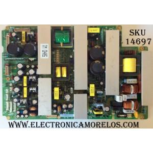 FUENTE DE PODER  / MAGNAVOX  LJ44-00118A / 996500036821 / PS-505-PH / UL6500 / UL60950-1 / SUSTITUTA UL60950-1 / MODELO 50MF231D/37 / 50PF7321D/37 / 50PF9631D/37 / 50PF9431D/37