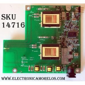 BACKLIGTH INVERTER / WESTINGHOUSE 2714000016 / IV125110/T / PWB-IV125110T / 5A28 A30971 E11757 / MODELO LTV-17V1SL