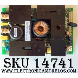 FUENTE DE PODER  / INSIGNIA KAS200-5S242212XS / 667-L32K5-20C / KAS200-5S242212XS-B / VER:A1.0 / MODELO IS-LCDTV32 / NVX32HDU / FLM-3201