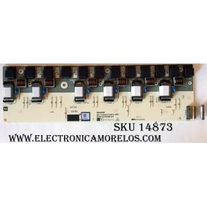 BACKLIGHT INVERTER / SHARP RUNTKA328WJN1 / QKITS0221S2P2(85) / MODELO LC-52D64U / PANEL LK520D3LZ50R