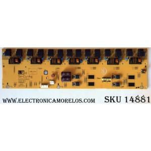 BACKLIGHT INVERTER /  SHARP RUNTKA443WJZZ / VIJ38006.50 / REV: 2 / MODELOS LC-32D64U / LC-32GP2U