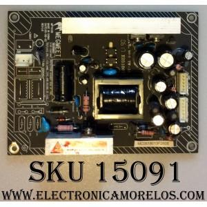 FUENTE DE PODER / AKAI MPT013B / E257867 / REV:1.0 / PANEL FPF42C128128UE-51 /  MODELO PDP4225M