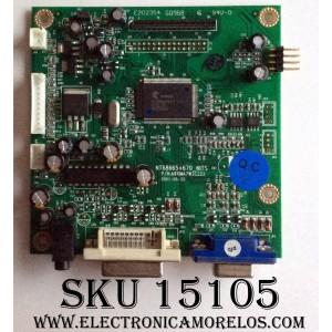 MAIN / OPTIQUEST G8.21M24.W2C / NT68665+670_NITS / G811MA7W2C223 / G821M24W2C / PANEL M190EN03 / MODELOS VS12108 / 900P