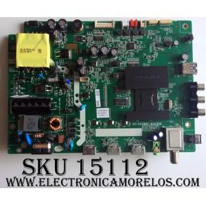 MAIN / FUENTE (COMBO) / TCL V8-UX38001-LF1V025(L1) / GT0000085A / 40-UX38M0-MAD2HG / UX38M0 / MODELO 40FS3800TJAA / PANEL LVF400SS0T E6