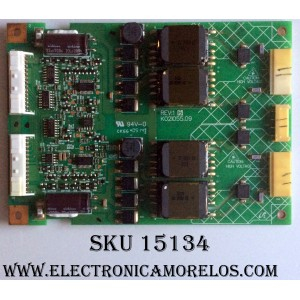 BACKLIGHT INVERTER / PANASONIC K02I055.09 / B514003-05 / PANEL LTA320W1-L01 / MODELO TX-32LXD1