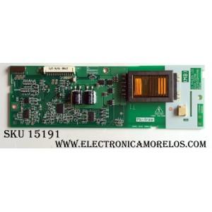BACKLIGHT INVERTER (MB) / PANASONIC 6632L-0278B / LC320W01  REV:6 / KLS-EE32M-M (MB) / PANEL LC320W01-SL20 / MODELO  TC-32LX70