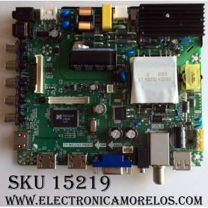 MAIN / ELEMENT H16071083 / TP.MS3393.PB801 /SY16200-2 /PANEL V500HJ1-PE8 / MODELO ELEFW5016