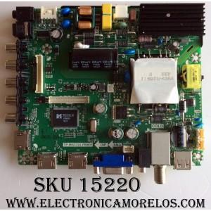 MAIN / ELEMENT K16078540 / TP.MS3393.PB801 / SY16200-2 / PANEL V500HJ1-PE8 / MODELO ELEFW5016
