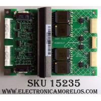 BACKLIGHT INVERTER / SAMSUNG K02I055.07 / 0423036-04 / PANEL LTA400W1-L02 / MODELO LTN406WX/XAA