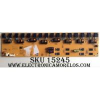 BACKLIGHT INVERTER / SHARP RUNTKA334WJZZ / VIJ38002.50 / REV:5 / PANEL R1LK370D3LZ60Z / MODELO LC-37D64U