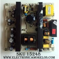 FUENTE DE PODER / INSIGNIA 6HA0132010 / 782.37FT18.200C / REV:09 / SUSTITUTAS 6HA0132014 / 6HA0132011 / PANEL T370XW02 V.5 / MODELO NS-LCD37