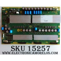 X-SUS / PANASONIC TNPA4002 / TXNSS1HGTUJ / PANEL MC147F22F9 / MODELOS TH-58PZ700U / TH-58PZ700U