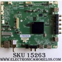 MAIN / VIZIO 756TXHCB02K0050 / XHCB02K005 / 715G8320-M01-B00-004T / (Q)XHCB02K005050Q / MODELO D43F-E1 LTTWVVBT / PANEL TPT430H3-HVN01.U REV:S272R
