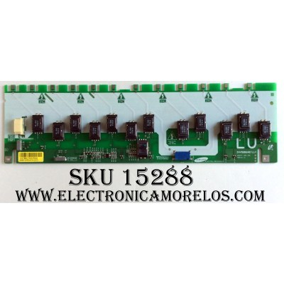 BACKLIGHT (LU) / SAMSUNG LJ97-01478B / INV52B24E(LU) / SSB520W24V01(LU) / REV:0.0 / PANEL´S LTA520HB04 / LTA520HC05 / MODELOS LNT5265FX/XAA / LNT5271FX/XAA