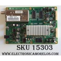 MAIN / NEC MDB1-A02-V1.1 / DVT33-A09D / MODELOS L406T6 / LCD4020 / PANEL LTI400WT-L02
