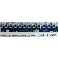 BACKLIGHT INVERTER / SONY LJ97-01665A / 1-857-047-11 / 1665A / REV.0.3 / SSB460HA24  / LJ97-01578A / PANEL LTY460HB08 / LTZ460HB08 / LTY460HC01 / MODELOS KDL-46S4100 / KDL-46V4100 / KDL-46W4150 / KDL-46SL140 / KDL-46W4100 / KDL-46WL140
