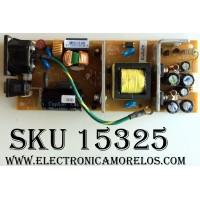 FUENTE DE PODER / VIEWSONIC RUNTP5654T8 / H0AU032001 / MODELO  VP930B VS10725